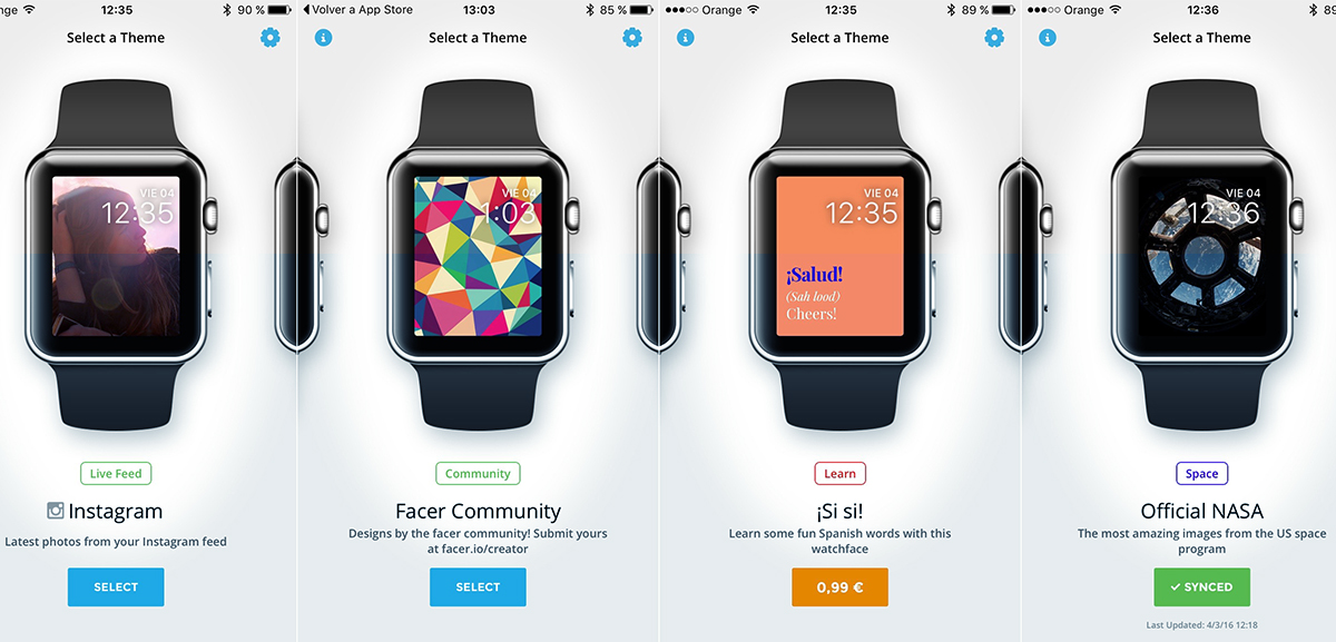 apple watch facer