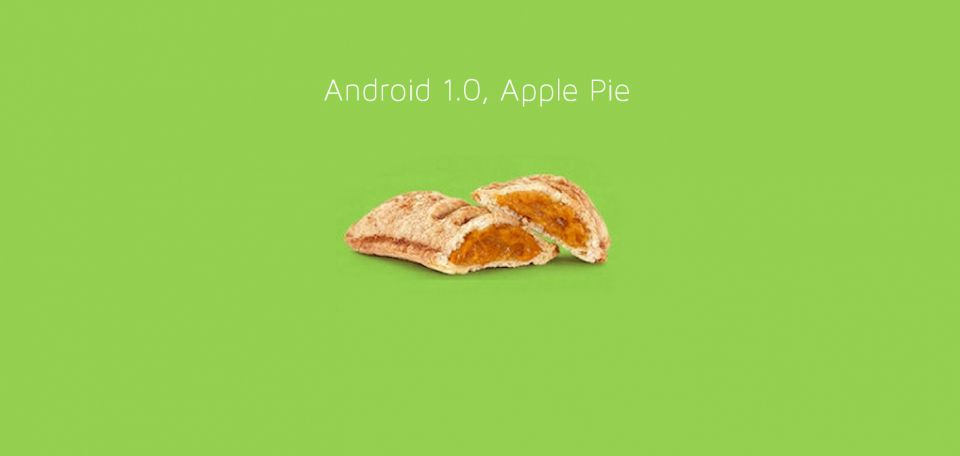Android Apple pie